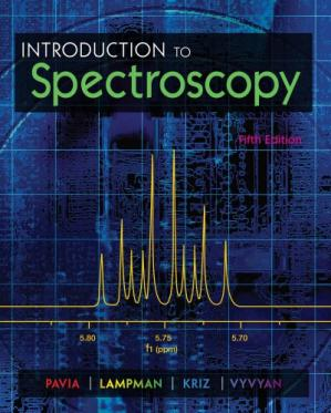 غلاف الكتاب Introduction to Spectroscopy