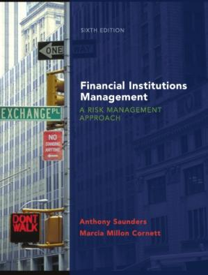 Kitap kapağı Financial Institutions Management: A Risk Management Approach , Sixth Edition (McGraw-Hill Irwin Series in Finance, Insurance, and Real Est)