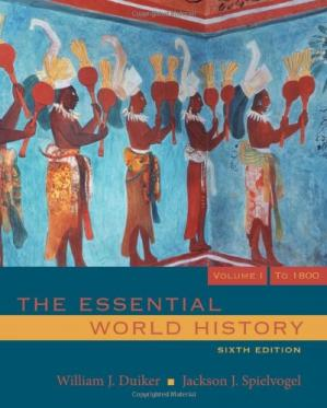 Book cover The Essential World History, Volume 1: To 1800 ,  Sixth Edition