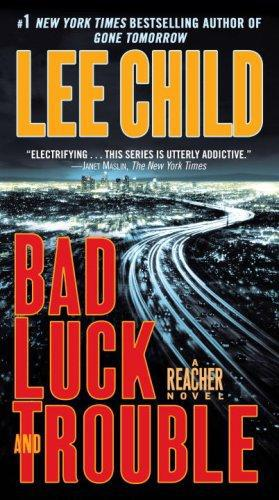 Book cover Jack Reacher 11 Bad Luck and Trouble
