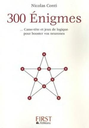 Book cover 300 énigmes