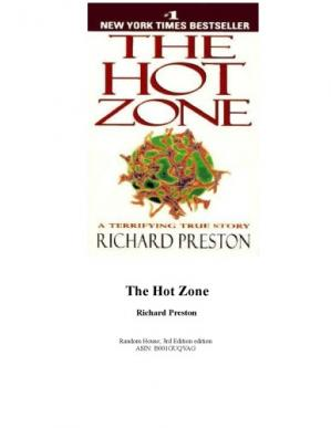 Book cover The Hot Zone