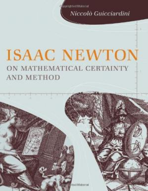 Buchdeckel Isaac Newton on Mathematical Certainty and Method