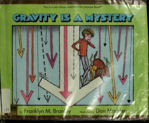 Book cover Gravity is a mystery