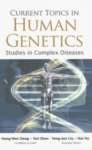 A capa do livro Current Topics in Human Genetics: Studies in Complex Diseases