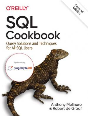 A capa do livro SQL Cookbook: Query Solutions and Techniques for All SQL Users