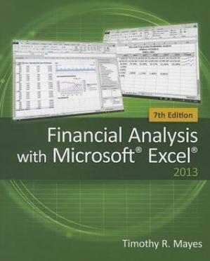 Book cover Financial Analysis with Microsoft Excel
