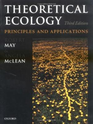 Book cover Theoretical Ecology: Principles and Applications