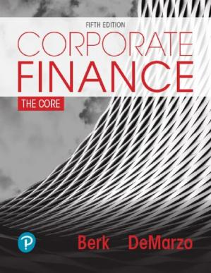 Book cover Corporate Finance (Subscription)