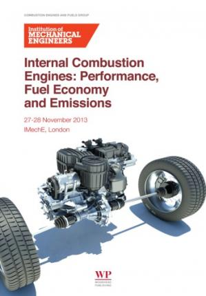 Book cover Internal combustion engines