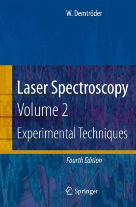 Обложка книги Laser Spectroscopy: Vol. 2 Experimental Techniques