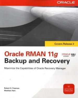 Couverture du livre Oracle RMAN 11g Backup and Recovery (Osborne ORACLE Press Series)