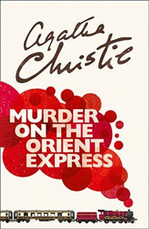 Book cover Murder on the Orient Express    (Poirot)