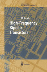 表紙 High-Frequency Bipolar Transistors: Physics, Modeling, Applications