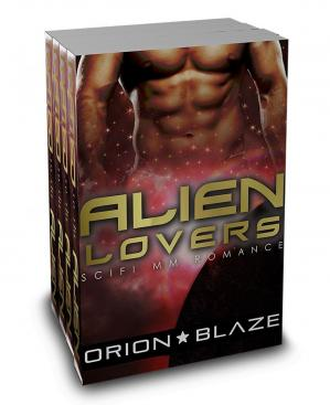 Обложка книги Alien Lovers Box: Mpreg Gay MM Alien Romance