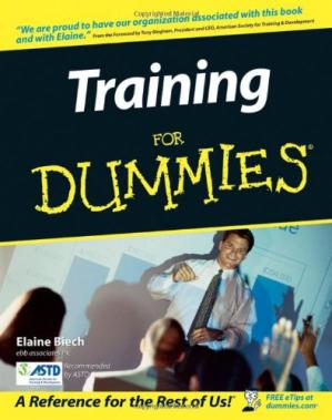 Book cover Training For Dummies