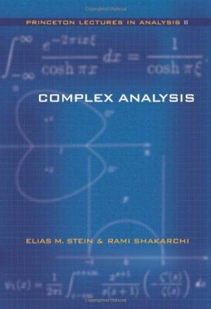 Book cover Complex analysis