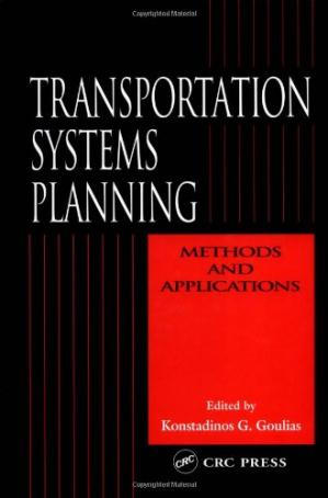 Sampul buku Transportation systems planning: methods and applications