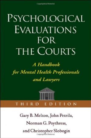 Okładka książki Psychological Evaluations for the Courts: A Handbook for Mental Health Professionals and Lawyers