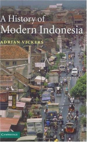 غلاف الكتاب A History of Modern Indonesia