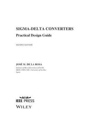 Book cover Sigma-Delta Converters. Practical Design Guide