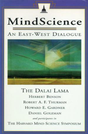 Book cover MindScience: An East-West Dialogue