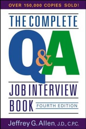 पुस्तक कवर The Complete Q&A Job Interview Book