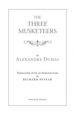 Buchdeckel The Three Musketeers: (Penguin Classics Deluxe Edition)