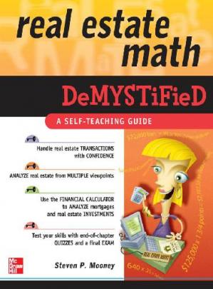 Book cover Real Estate Math Demystified