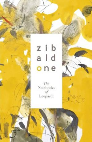 表紙 Zibaldone: the notebooks of Leopardi