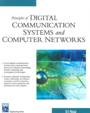 غلاف الكتاب Principles of Digital Communication Systems and Computer Networks