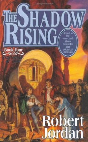 Portada del libro The Shadow Rising: Book Four of 'The Wheel of Time'