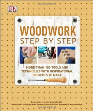 Book cover Woodwork Step by Step