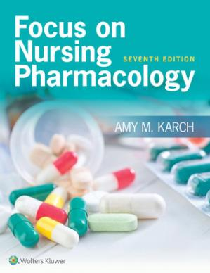 Book cover Focus on Nursing Pharmacology
