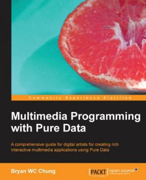 Book cover Multimedia Programming with Pure Data