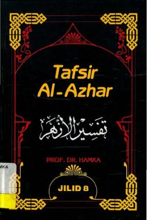 Book cover Tafsir Al-Azhar Vol 8