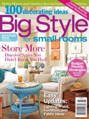 Buchdeckel 100 Decorating Ideas: Big Style for Small Rooms - Better Homes and Gardens Special Interest Publication