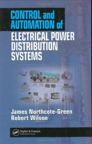 A capa do livro Control and Automation of Electrical Power Distribution Systems