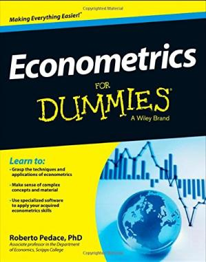 Book cover Econometrics For Dummies
