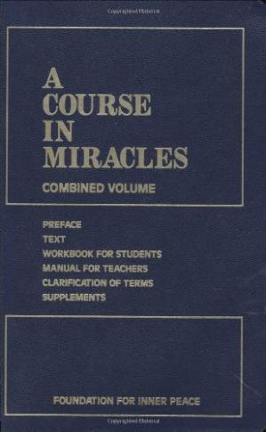 Book cover A Course in Miracles