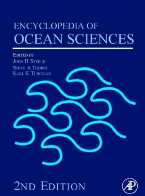 წიგნის ყდა Encyclopedia of ocean sciences. Vol.1-6