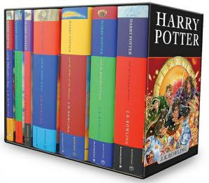 A capa do livro Harry Potter [Complete Collection]