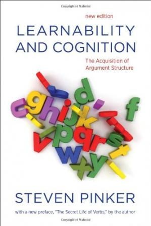 Book cover Learnability and Cognition: The Acquisition of Argument Structure