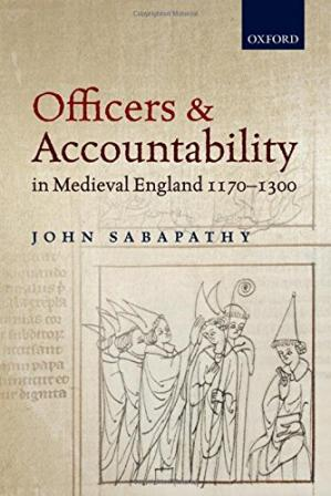 Book cover Officers and accountability in medieval England : 1170-1300
