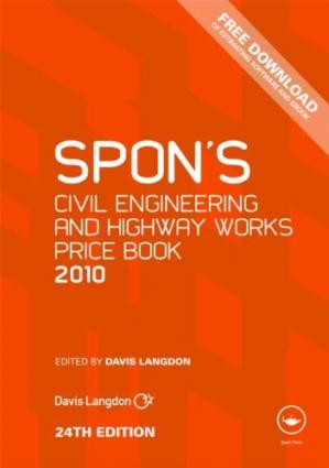 Εξώφυλλο βιβλίου Spon's Civil Engineering and Highway Works Price Book 2010 (Spon's Price Books), 24th Edition