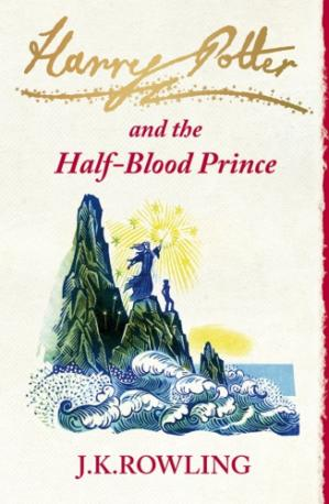 Book cover Harry Potter and the Half-Blood Prince (UK edition)