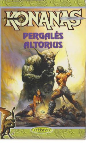 书籍封面 Konanas Pergales Altorius