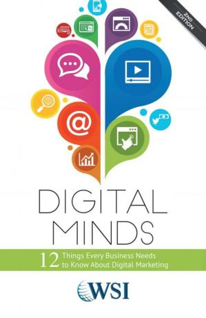 Book cover Digital Minds - 12 Things Every Business Needs to Know About Digital Marketing