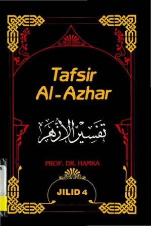 Book cover Tafsir Al-Azhar Vol 4