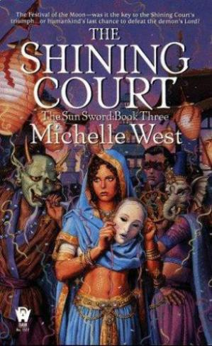 Sampul buku The Shining Court